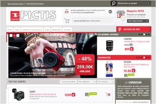 Site e-commerce mat�riels High Tech