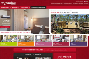 Site responsive et mobile Rapidhome